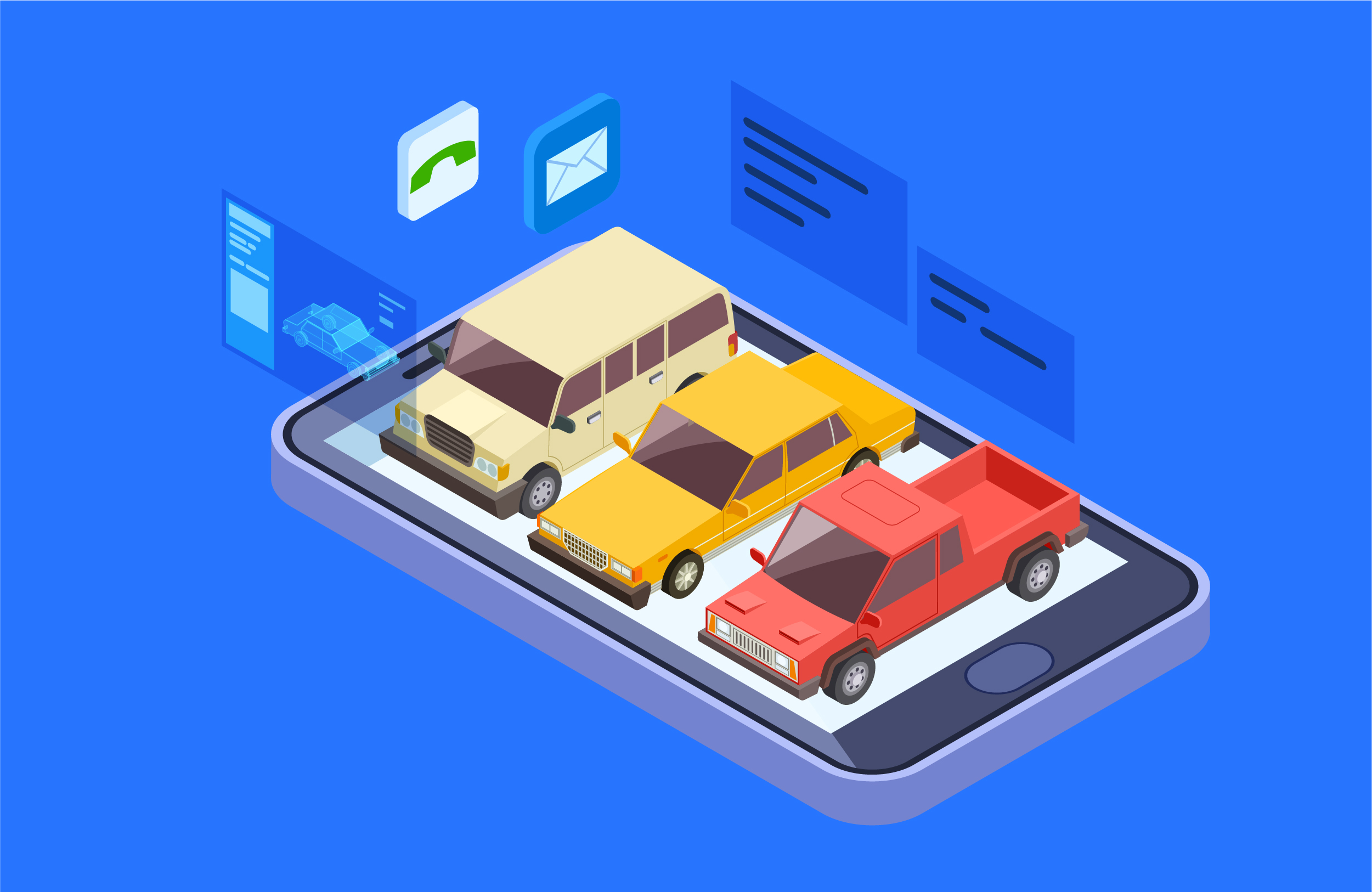 汽车租赁车辆管理系统